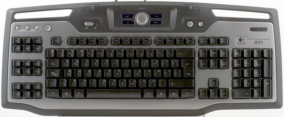 Механическая клавиатура Logitech G11