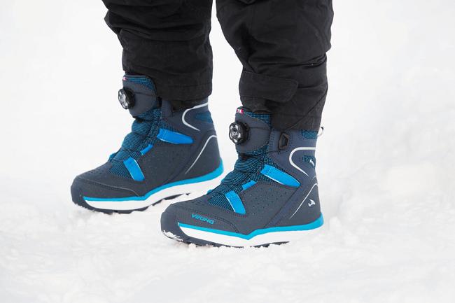 Зимние ботинки Viking Espo Boa GTX Navy/Blue для мальчиков в интернет-магазине Viking-boots