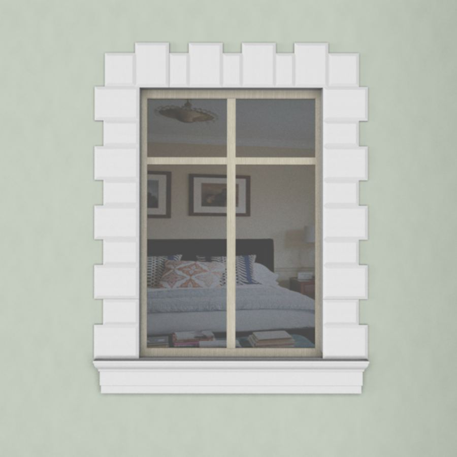 окно наличник