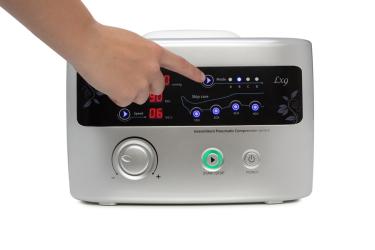 Режимы работы лимфодренажного аппарата Doctor Life LX9