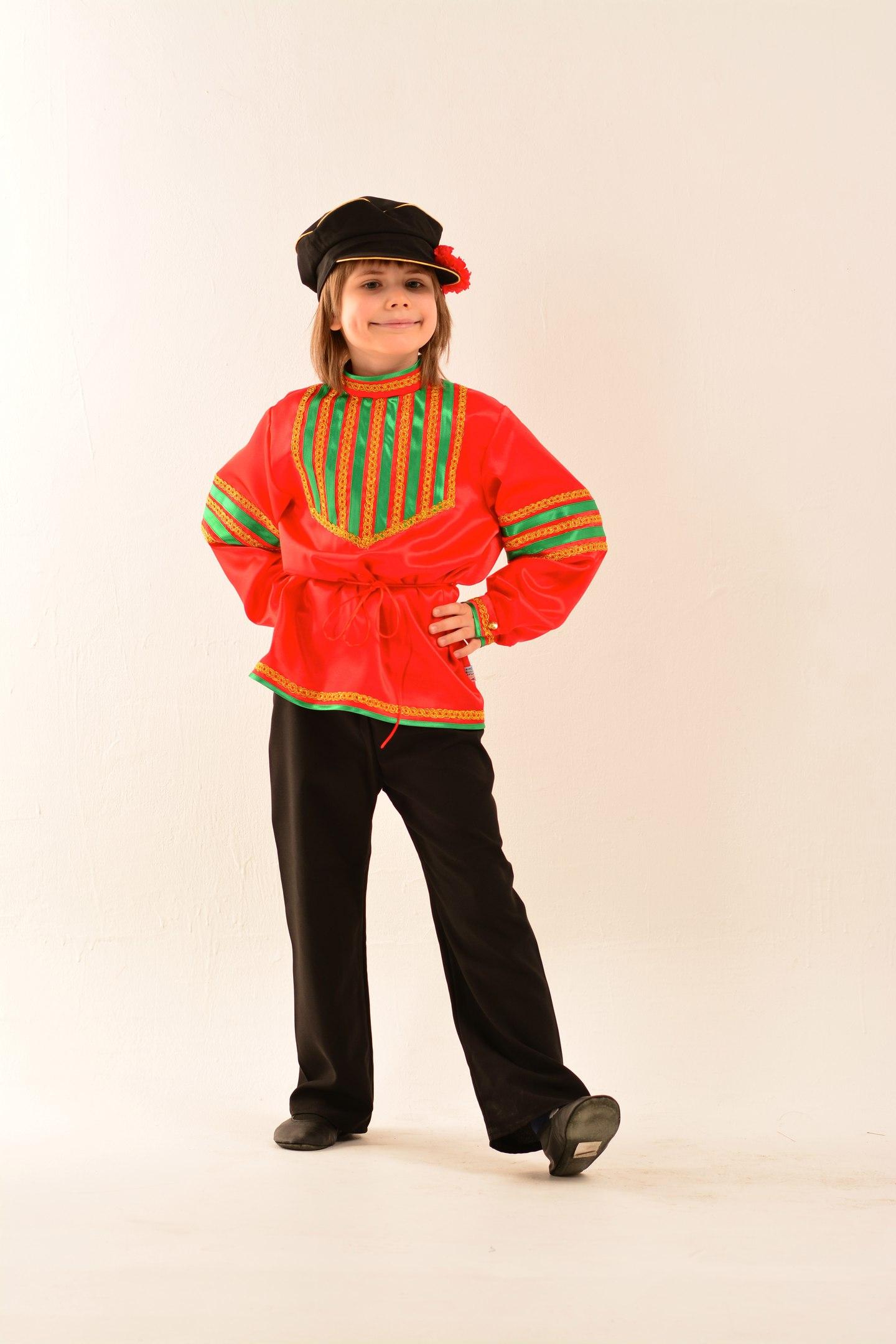 Народные костюм для мальчика