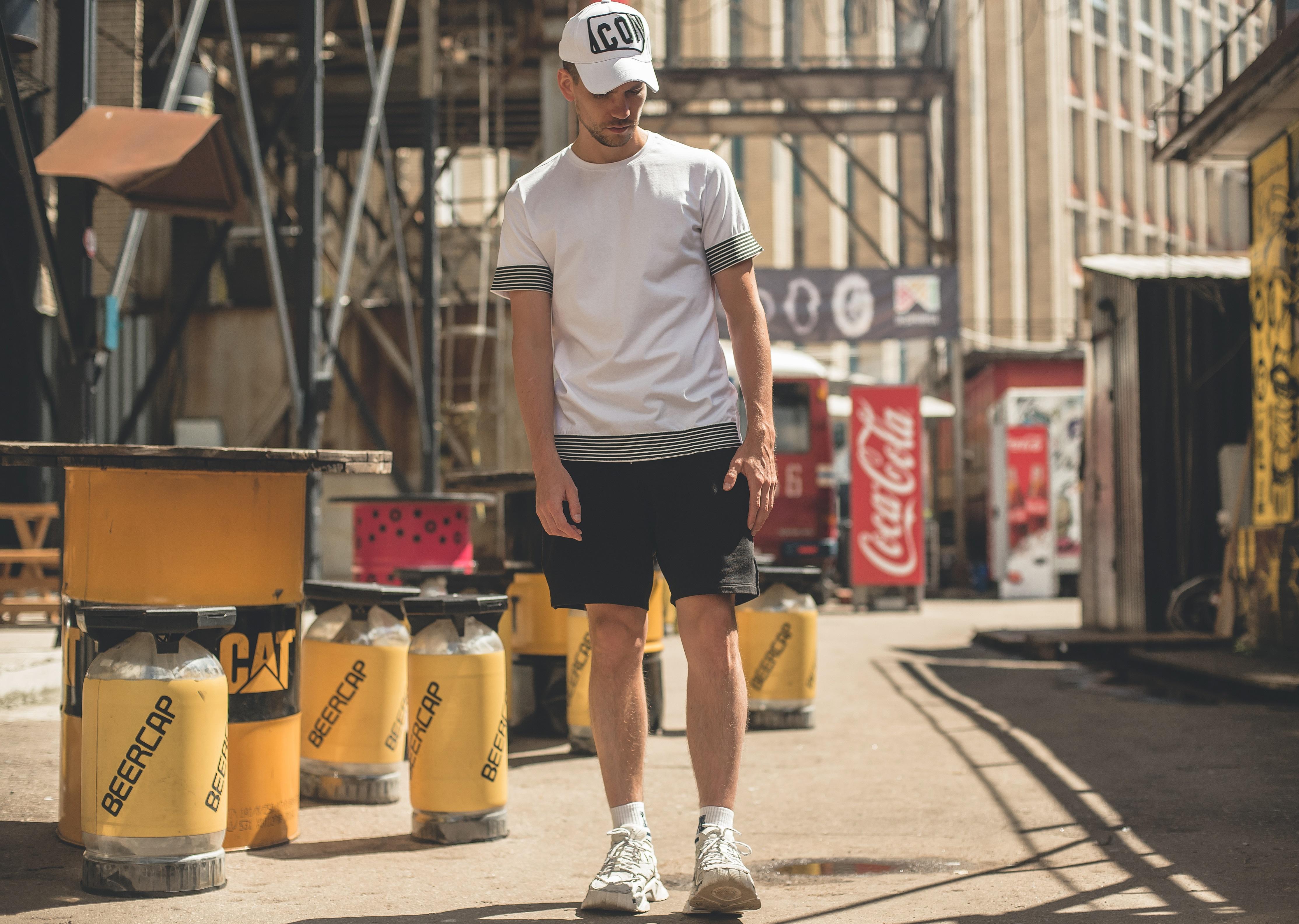 Черные спортивные модные летние шорты 2020