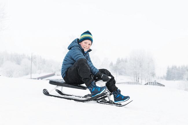 Детские ботинки Viking Espo Boa GTX Navy/Blue для мальчиков в интернет-магазине Viking-boots