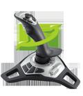 Twist-handle rudder