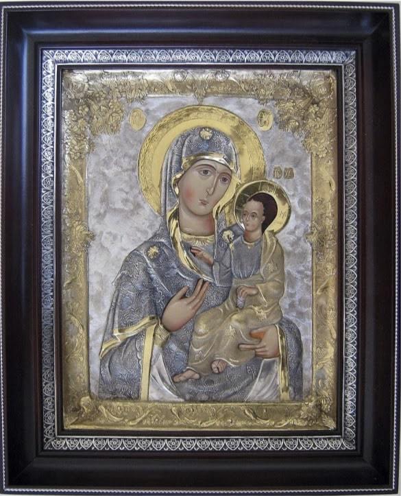 Иверская икона Божьей Матери фото