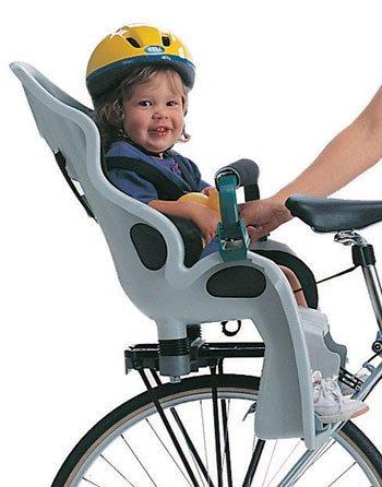 Крепление детского велокресла на багажник велосипеда
