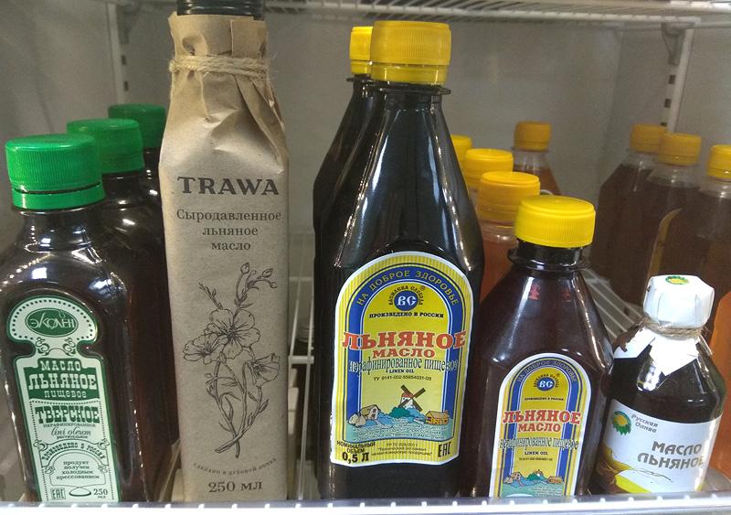 Дружные ряды льняного масла в И-МНЕ