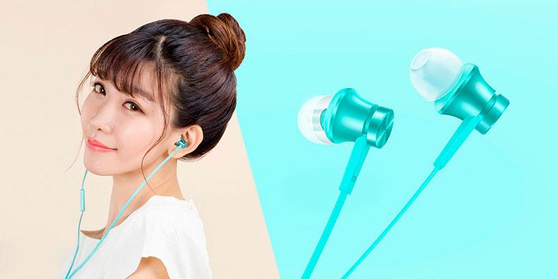 Наушники Xiaomi Piston Fresh (голубой)