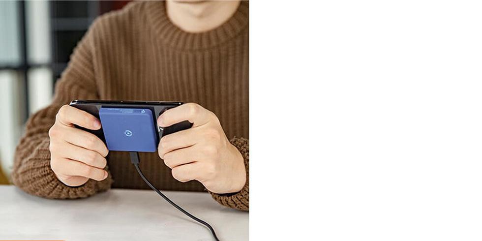 Беспроводное зарядное устройство Xiaomi Rui Ling Power Sticker (2600 mAh, голубой)