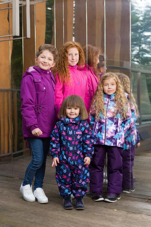 Парка Premont для девочек Лавандовое настроение S18161 (справа)