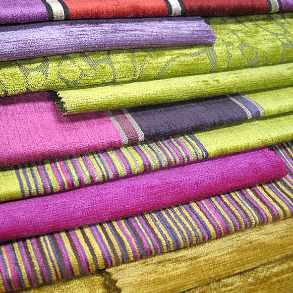 Мебельная ткань: микрошенилл, коллекция Etro