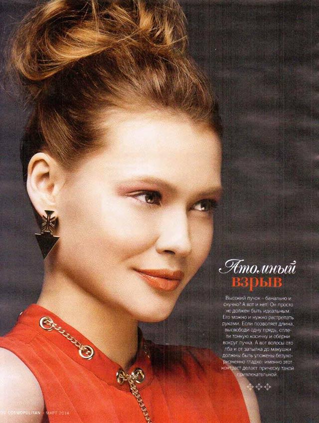 Элегантные серьги от CHIC Alors-Paris в мартовском Cosmopolitan