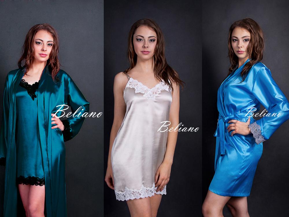 блондинка, изумруд, кремовый, бирюза, шелковый, халат, ночнушка, комбинация, комплект, пижама, из шелка