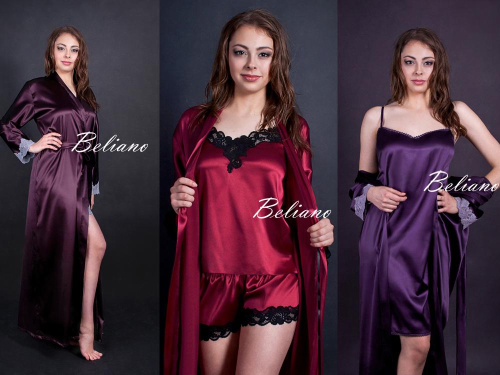 рыжая, красный, бордо, баклажановый, шоколад, типаж, что подходит, шелковый халат женский, комплект для сна, рубашка