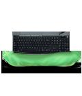 Comfortable, quiet typing