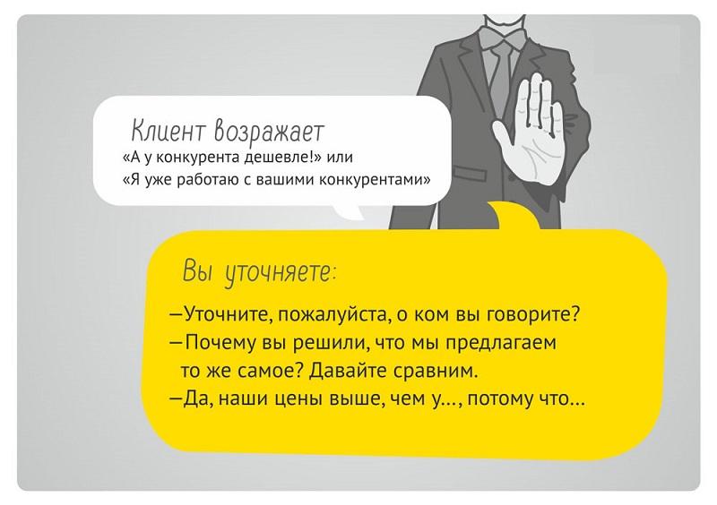 возражение клиентов
