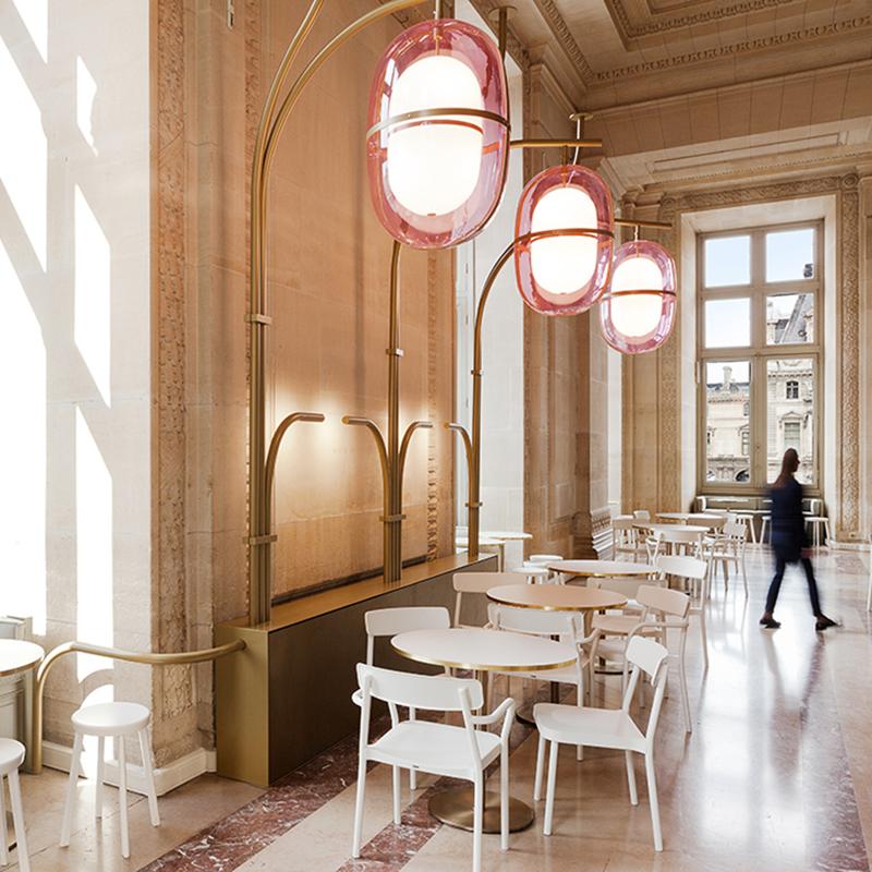 Освещение Лувра от Mathieu Lehanneur