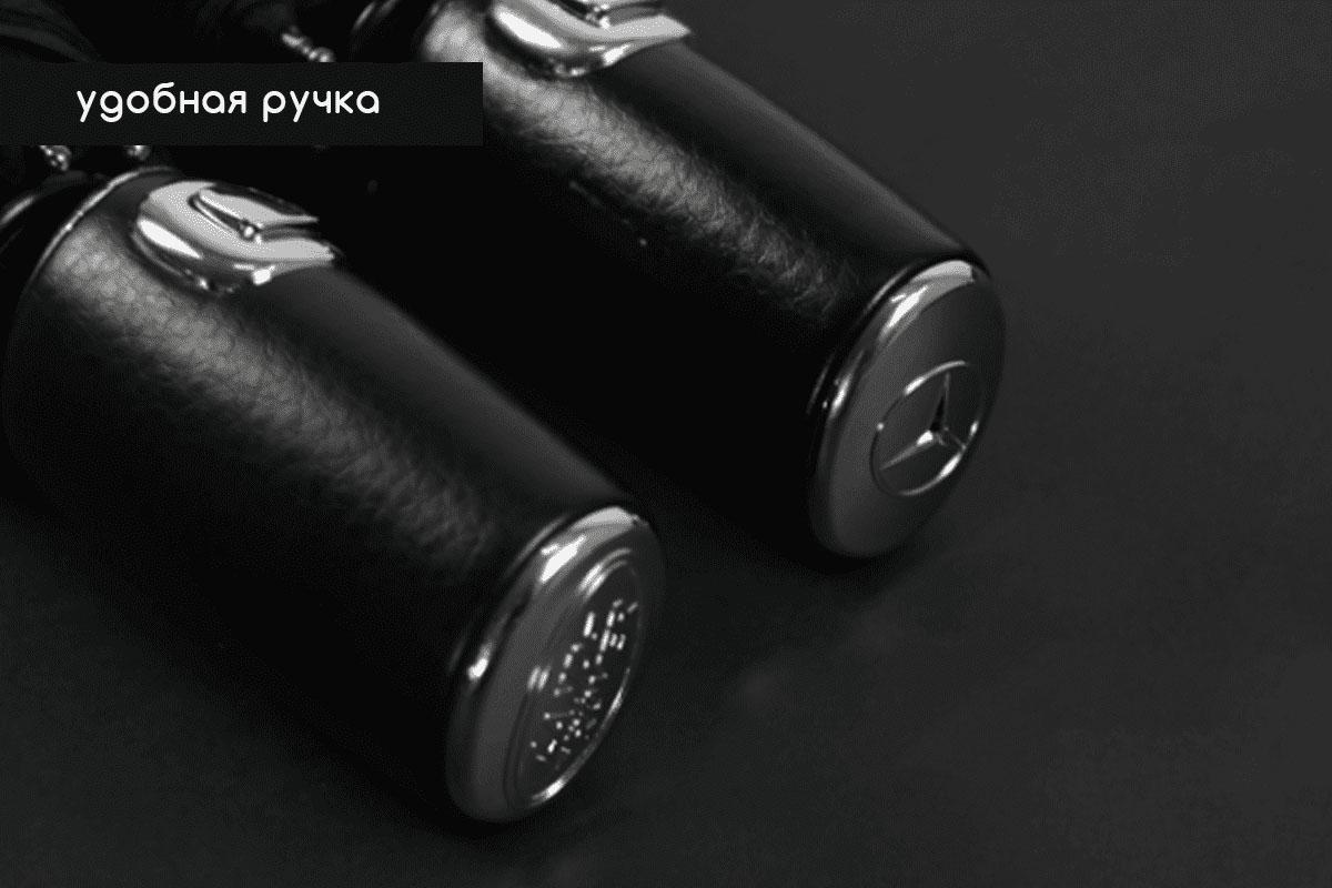 Зонт черный складной мужской Mercedes-Benz