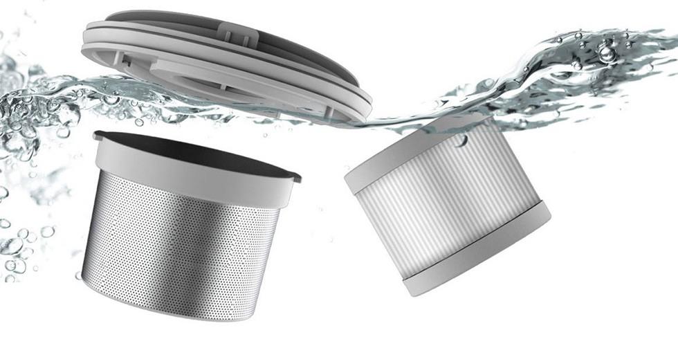 Беспроводной ручной пылесос  Xiaomi SWDK Handheld Vacuum Cleaner (белый/white)