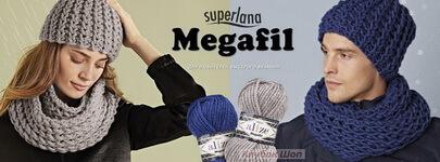 Вязание из Суперлана Мегафил - фото