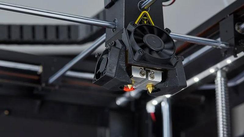 Двойная печатающая головка raise 3d pro