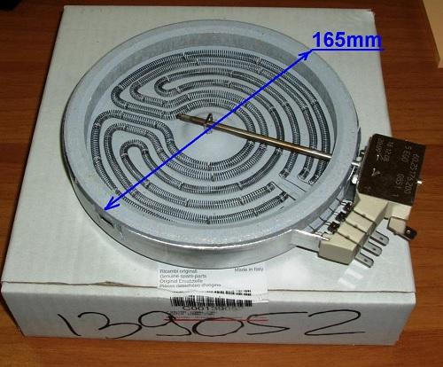 конфорка для электроплит со стеклокераммической варочной поверхностью