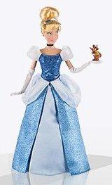 Кукла Золушка базовая с мышонком
