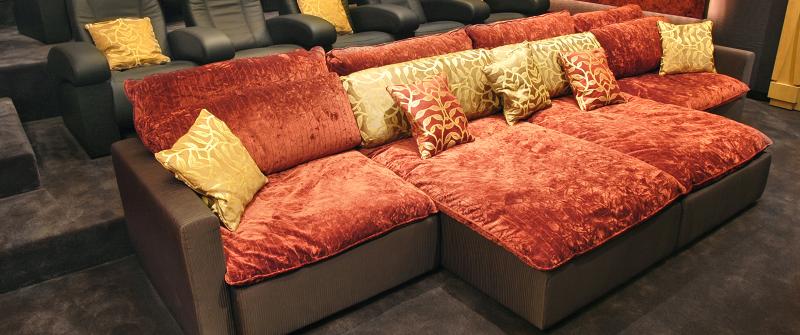 диваны и кресла для домашнего кинотеатра
