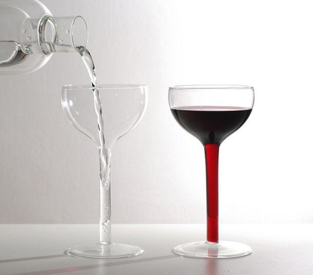 Красивые фужеры для вина