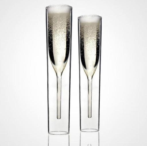 Высокие фужеры для шампанского