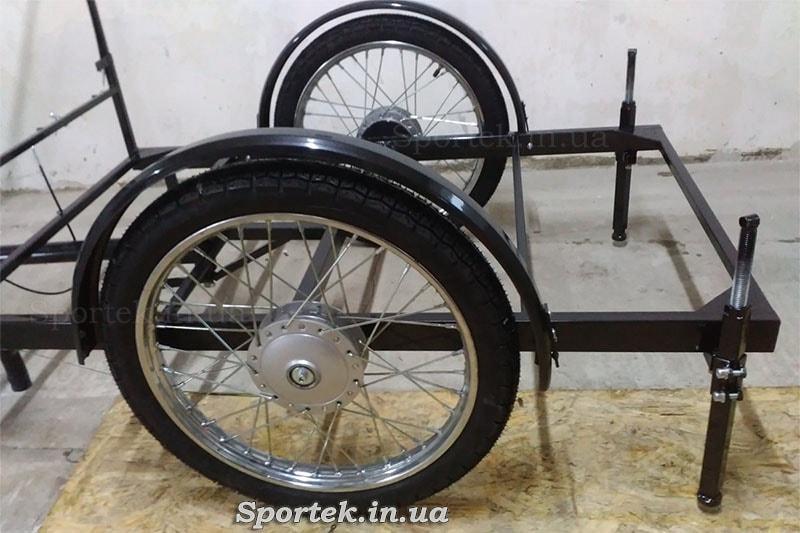 Упори для вантажної платформи у велосипедів Арден та Кавовий