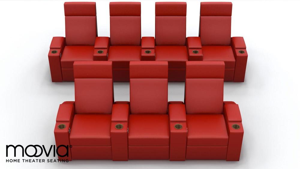 Кресла для домашнего кинотеатра Moovie Berlin