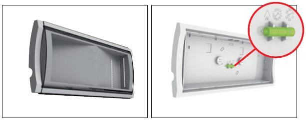 Спиртовой уровень входит в комплект поставки аварийного светильника для низких температур Formula 65 LED Extreme