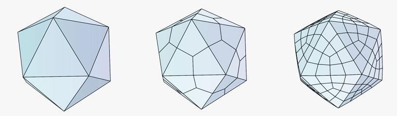 Низко-полигональные, средне-полигональные и высоко-полигональные модели
