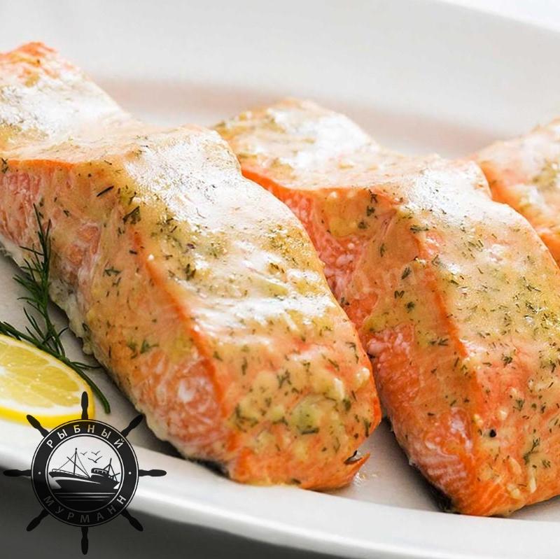 Нежный Лосось в духовке - от Рыбного Мурманна! ⠀
