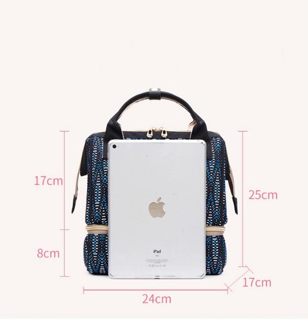 "Сумка-рюкзак для мамы 2в1  ""White""  BABUTKA"