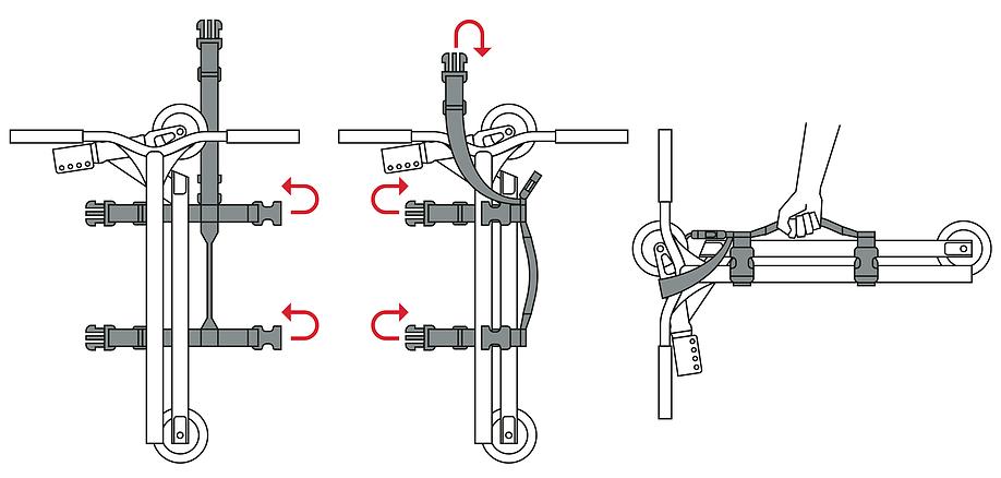 Инструкцию по истпользованию строп для самоката