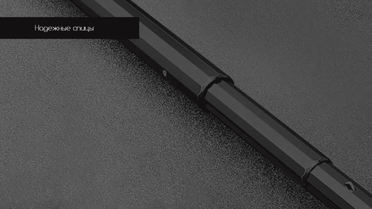 Представительский складной зонт зеленый | ZC Apolo Premium