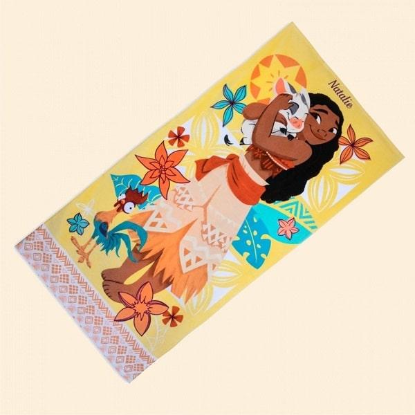 Пляжное полотенце Моана