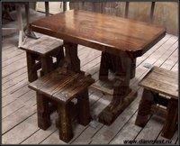 Комплект мебели в стиле шале