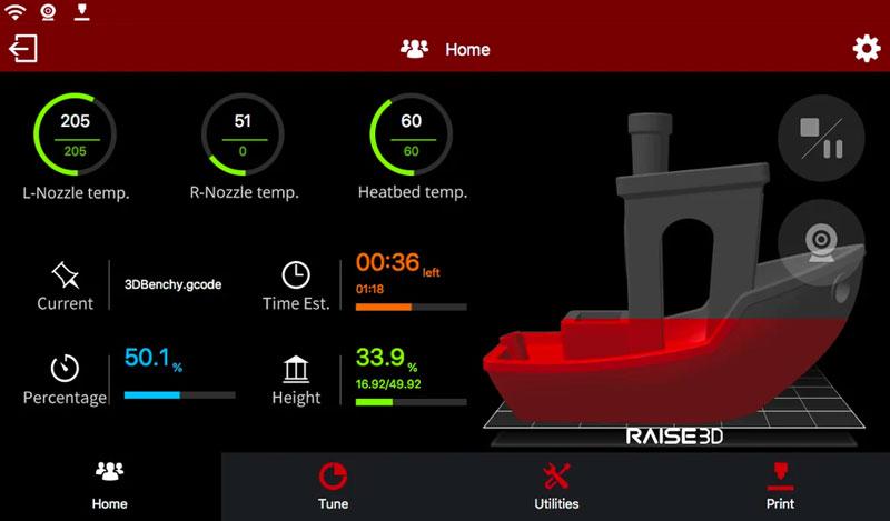 Ideamaker для Raise3D Pro 2 Plus