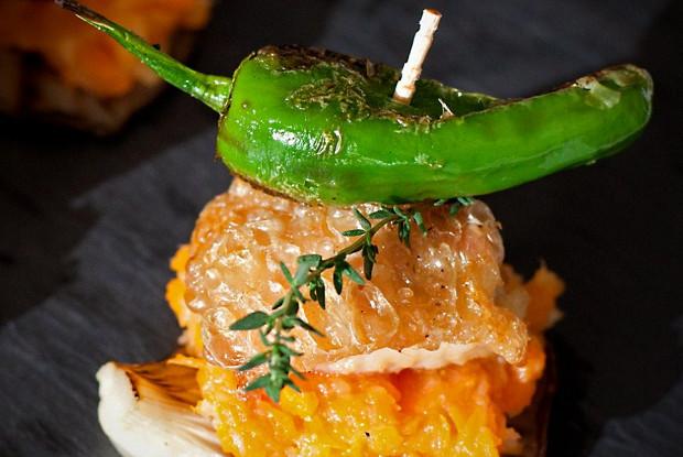 Рецепт испанского тапаса с курицей на гриле