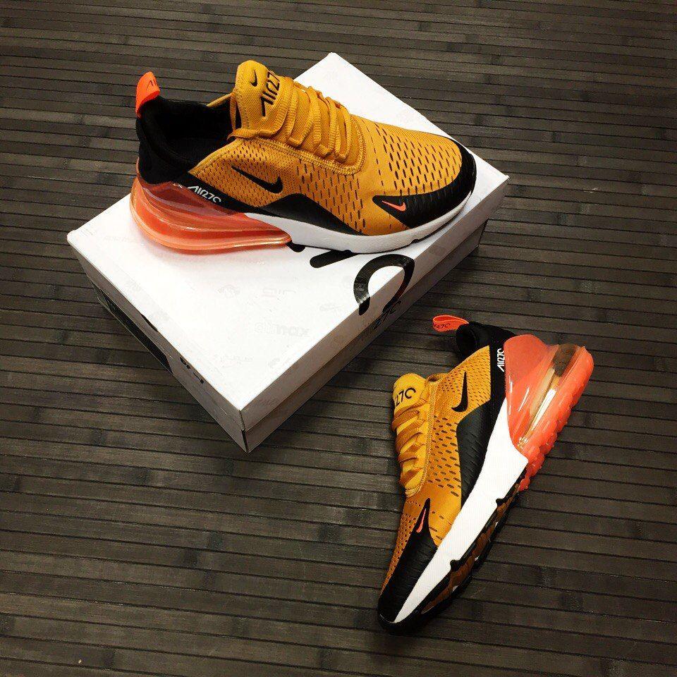 Nike Air Max 270 в Жёлтом цвете Мужские