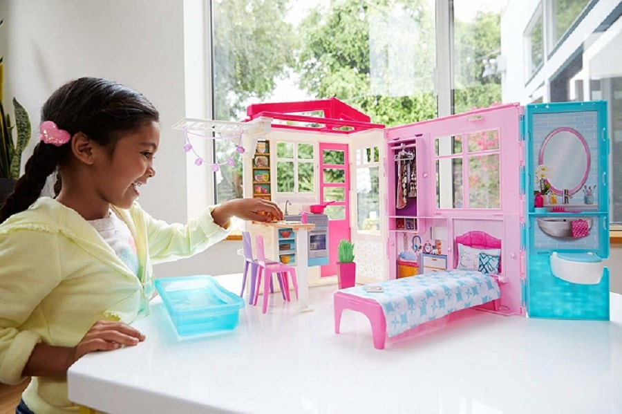 Переносной домик для Барби - Barbie Doll House