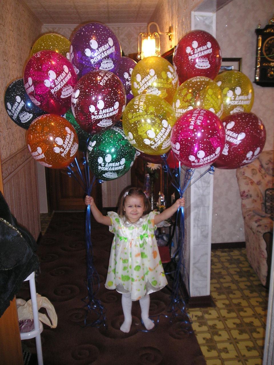 шарики на день рождения недорого