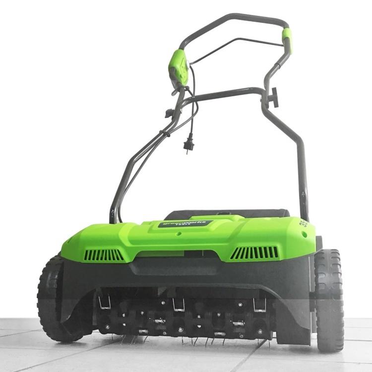 Аэратор Greenworks – забота о вашем газоне
