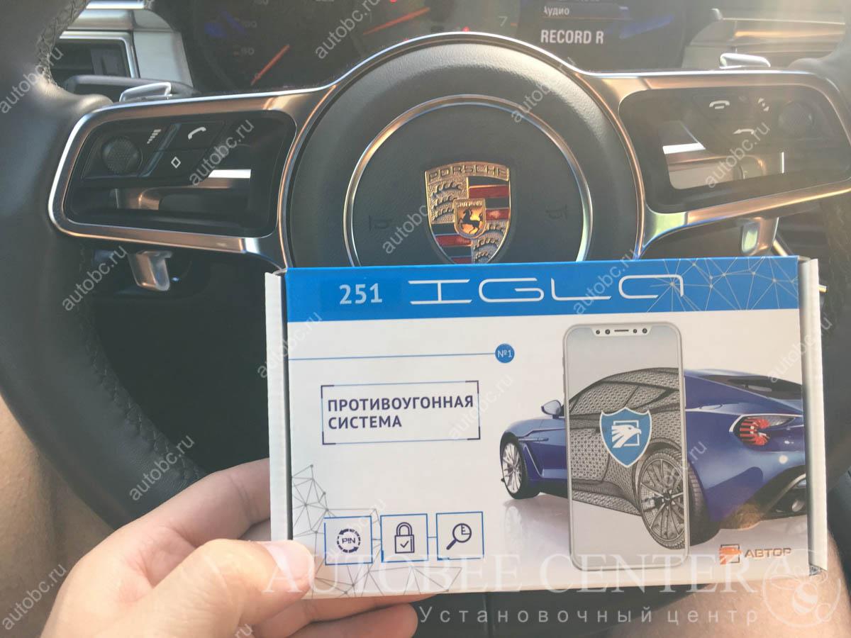 Porsche Macan (Установка иммобилайзера Игла)