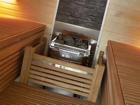 Установка дровяных печей для сауны