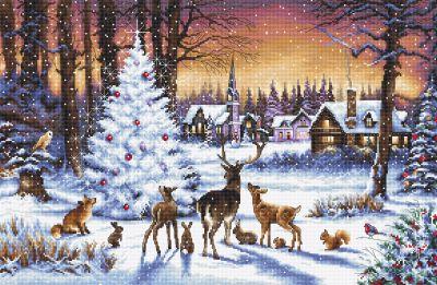 Рождественский лес