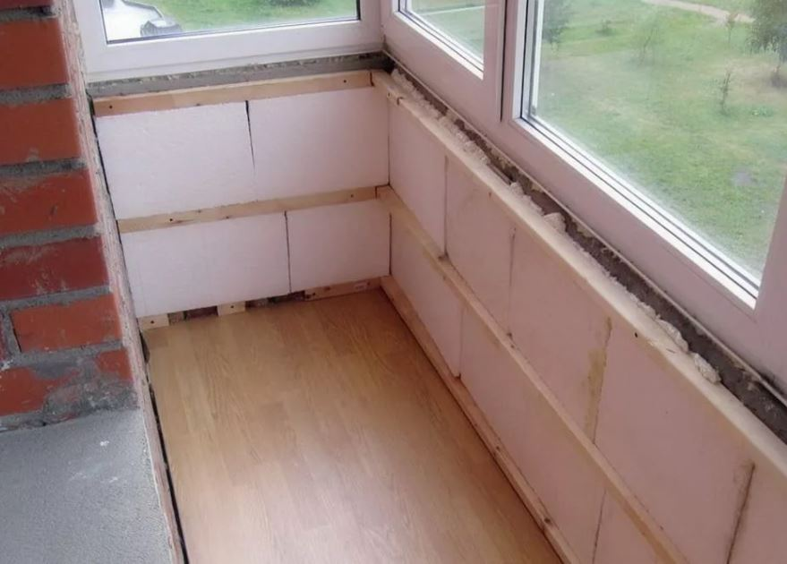 экструдированный пенополистирол для балкона